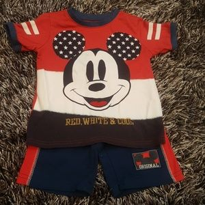Mickey Red, White and Blue Set